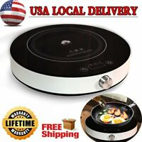Portable Induction Cooktop Electric Single Cooker Burner Timer Hot Plate 1800W