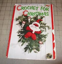 1952 CROCHET FOR CHRISTMAS Star Book 94 Booklet in Fair/Poor Condition