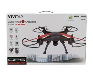 BRAND NEW Vivitar AeroView Video Drone  HD WiFi GPS Real Time Video