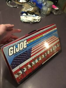1984 GI Joe Collectors Case Plus All Figures