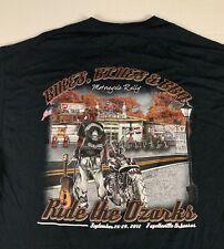 New ListingMen's Gildan Size Xl Bikes Blues Bbq T Shirt Motorcycle Rally Ride The Ozarks