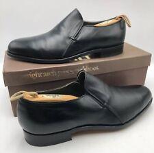 Vtg WRIGHT BREATHER Arch Preserver Shoe Mod Hip Beatle Black Loafer 10.5 C