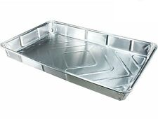 50 x NEW Foil baking trays large containers Aluminium Disposable dishes 12 x 8""