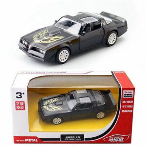 1:36 1978 Pontiac Firebird Model Car Diecast Toy Vehicle Kids Collection Black