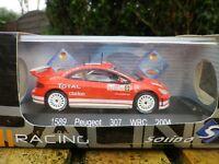 SOLIDO SERIE RACING 1:43 PEUGEOT 307 WRC MONTE CARLO 2004 # 5 état neuf en boite