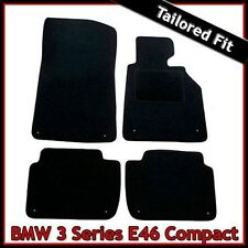 BMW 3-Series E46 Compact 2000-2006 Tailored Fitted Carpet Car Floor Mats BLACK
