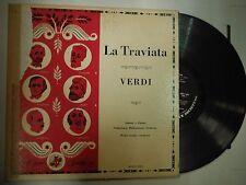 33 RPM Vinyl Verdi La Traviata Opera Society M2011-OP1 121514KME