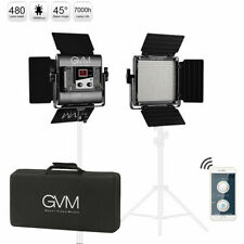 Gvm Led Video Studio Photography Light Kit Bi-Color 560 Beads with Tripod App