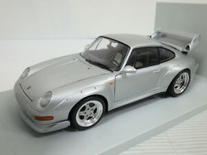 ## Porsche 911/993 GT2 DieCast Precision Model 1:18 silver, UT-models RARE #