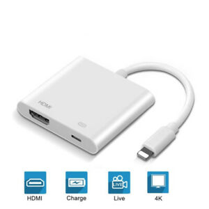 Telefon zu HDMI Digital USB AV TV Kabel Adapter 1080P für iPad Apple iPhone Neu