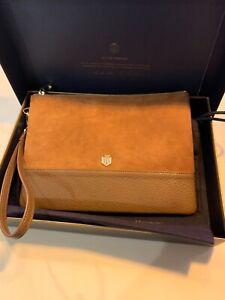 Fairfax & Favour Highbury Clutch Bag Tan