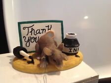 """Dean Griff Charming Tails Mib -mouse """"Thank You"""" figure #98/700"""