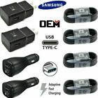 Fast Wall Car Charger Type C USB C Cable For Samsung Galaxy S8 S9 S10 S20 Note10