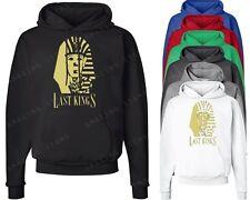 Last Kings Gold Logo Hoodie TYGA Last King hooded sweatshirt YMCMB dope pullover