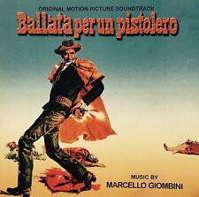 MARCELLO GIOMBINI - BALLATA PER UN PISTOLERO Spaghetti Western Soundtrack CD