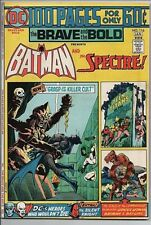 DC Comics 100 pg Brave and the Bold with Batman and The Spectre #116 Jan. 75 VF-
