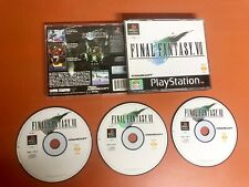 Final Fantasy VII (7)  (Sony PlayStation 1, 1998) - PS1 3 Discs - Missing Manual