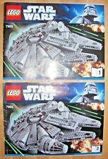 Lego Star Wars 7965 Millennium Falcon Instruction Manuals Only Used