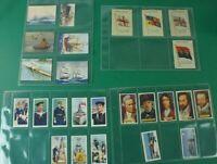 Konvolut Sammelbilder Zigarettenbilder Automatenbilder Maritime Motive Alb-549