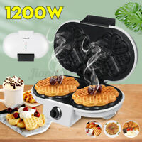 SOKANY 1200W Electric Waffles Maker Pan Sandwich Pancake Cake Machine Non-stick