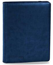 Ultra Pro, 9 Pocket Premium Pro Binder, Blue (Hold 360 Cards)