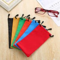 5/10PCS Top Glasses Cases Waterproof Sunglasses Bag Pouch Optical Cloth Bags--