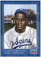 2019 Topps 150 Years of Baseball #66 Jackie Robinson Brooklyn Dodgers PR 1,333