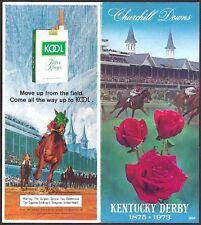 SECRETARIAT - 1973 KENTUCKY DERBY HORSE RACING PROGRAM - MINT!