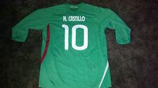 NERI CASTILLO SIGNED REPLICA MEXICO SOCCER JERSEY