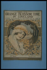 305088 When Its Orange Blossom Time In Loveland 1915 A4 Photo Print