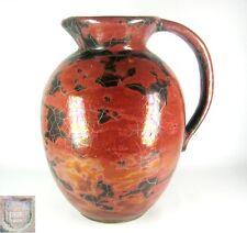 Paul Dressler CERAMICA XL BROCCA/Vaso 40er 50er anni Grotenburg Pottery Krefeld