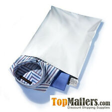 500 12 x15.5 WHITE POLY MAILERS ENVELOPES BAG SELF SEAL