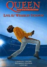 QUEEN LIVE AT WEMBLEY STADIUM 2 DVD ALL REGIONS NTSC NEW