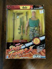 "Hasbro GI Joe: Street Fighter II 12 inch Guile Action Figure 12"" Game Character"