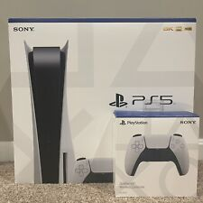 Sony PS5 PlayStation 5 Console Disc Version With Extra Controller ✅SHIPS TODAY✅