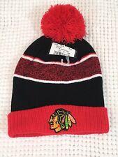 CHICAGO BLACKHAWKS hat cap beanie knit childrens boys girls NHL hockey new bA