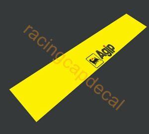 Agip SunStrip Visor Windscreen Windshield Decal Sticker Banner for alfa fiat 500