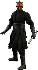STAR WARS - Darth Maul 1/6th Scale 'Duel on Naboo' Action Figure (Sideshow) #NEW
