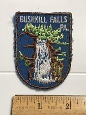 Bushkill Falls Niagara of Pennsylvania PA Waterfall Souvenir Embroidered Patch