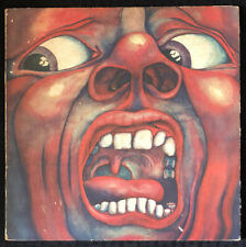 KING CRIMSON In The Court Of The Crimson King LP 1969 1st SD 8245 - GD+/VG Vinyl