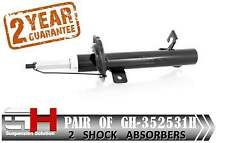 2 NEW FRONT  SHOCK ABSORBERS FOR FORD FIESTA V 11.2001-12.2003 / GH-352531H /