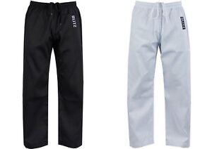 Blitz Childrens Polycotton Karate Trousers, Martial Arts, Aikido