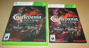 Castlevania Lord Of Shadows Collection (Case & Manual Only) Xbox 360