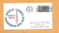 MISSILE LAUNCH MINUTEMAN 3 SUPER ICBM FEB 8,1970 VANDENBERG AFB