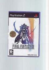 Final Fantasy XII 12-SONY PS2 juego/60GB PS3 compatible-Original y Completo