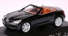 Mercedes Benz SLK 6.1S R171 Brabus Edition 2004-08 schwarz black 1:87 Herpa