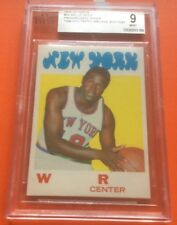 1971 Topps #30 WILLIS REED PROOF BGS 9 mint   RARE