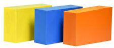 "ABS-  Plastic Bar Pack - 3 Colored Blocks - 2"" x 4"" x 6"" CNC"