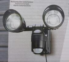 STAR - LED Außenstrahler Strahler mit Bewegungsmelder und Solarpanel