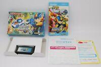 Nintendo GAMEBOY ADVANCE Rockman Exe 4.5 Real Operation w/ box Japan GBA Megaman